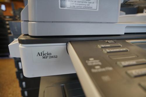 Ricoh Aficio MP 2852 Copier