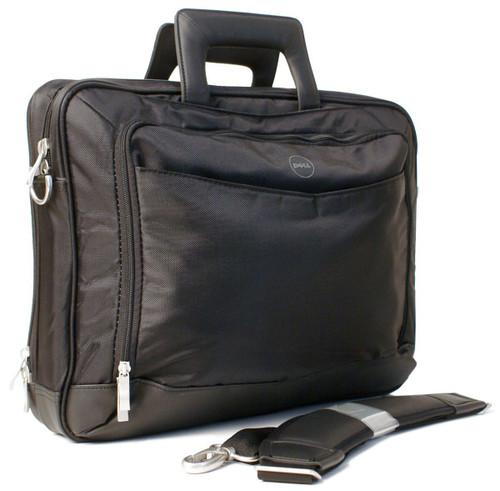 "Dell 14"" Black Nylon Laptop Notebook Bag Carrying Case"