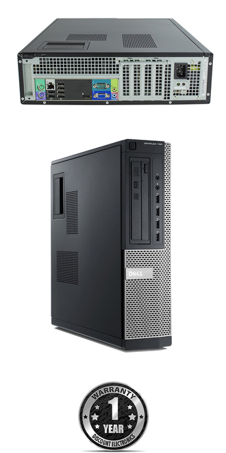 Dell Optiplex 790 DT i7 Windows 7 Pro Computer main view.