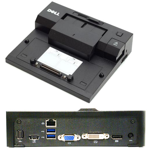Dell E-Port PR03x Docking Station Replicator USB 3.0 main view.