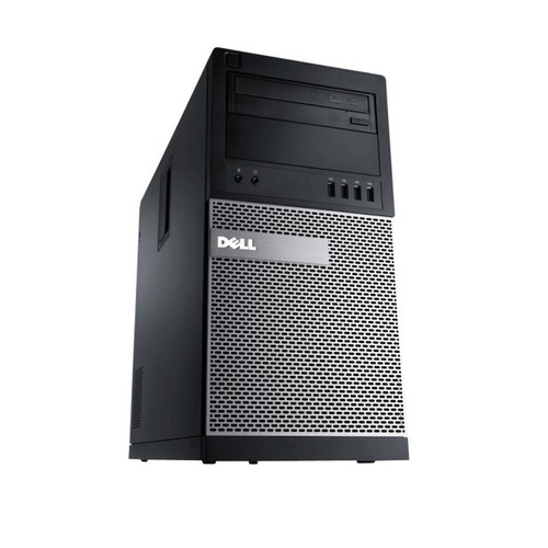 Used Dell Optiplex 7010 i7 Tower Windows 7 Computer Front