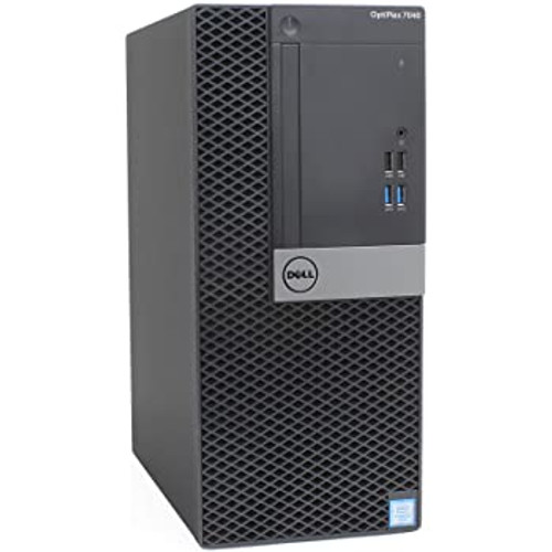 Dell OptiPlex 7040 MT i7-6700 Mini Tower Win 10 Pro Computer Thumbnail