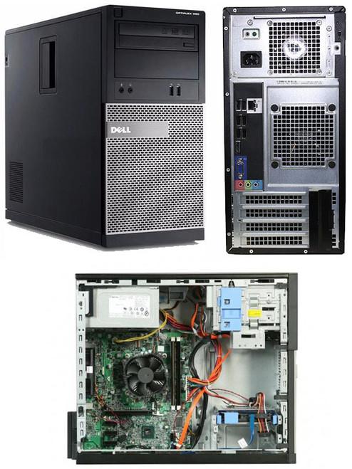 Dell Optiplex 390 MT i3 Windows 7 Professional Computer Main View