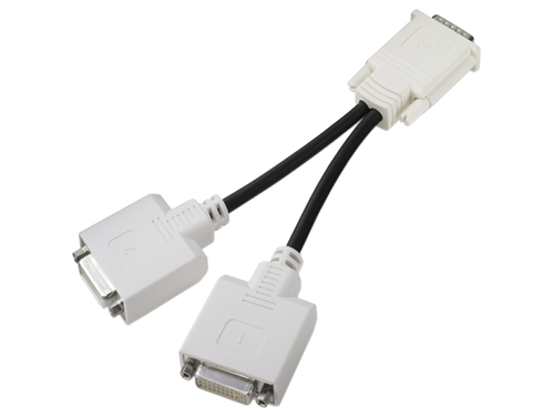 DMS-59 to Dual DVI Video Y Splitter Cable