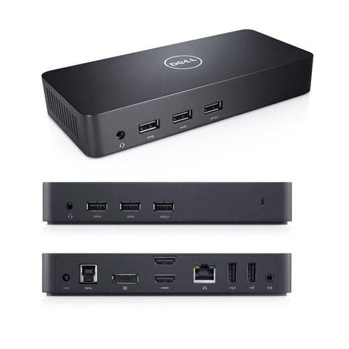 Dell D3100 USB 3.0 UHD 4K Triple Video Docking Station