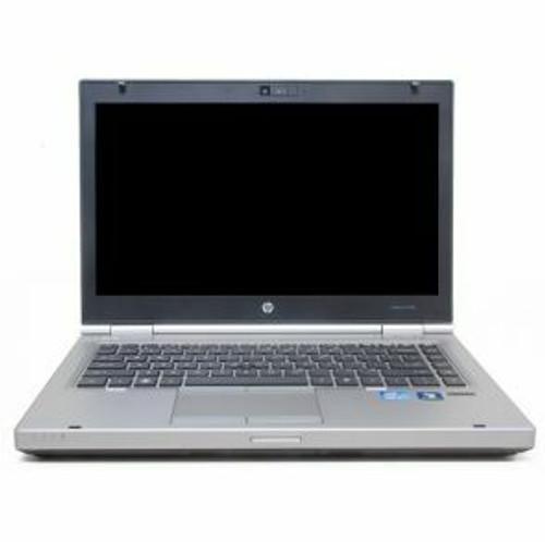 "HP EliteBook 8470P Core i5 14"" Windows 10 Laptop front view"
