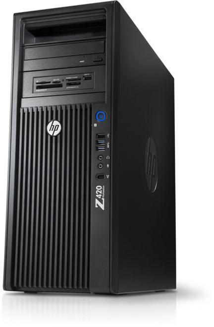 HP Z420 Workstation Quad Core Xeon Windows 10 Pro
