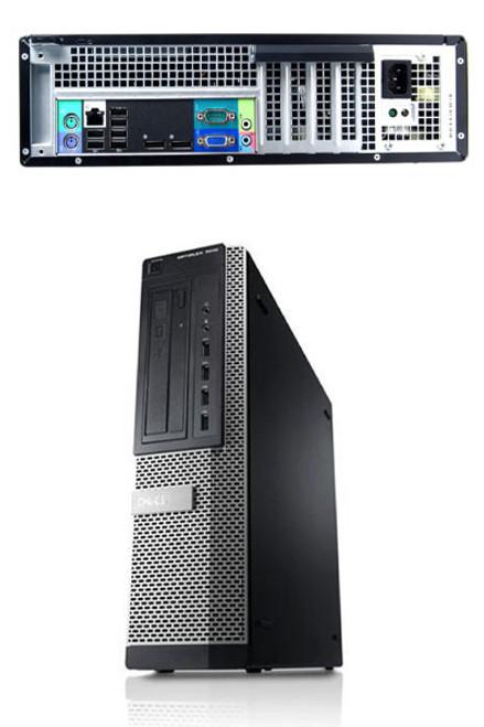 Dell Optiplex 9010 Desktop i7 Windows 7 Computer Main View