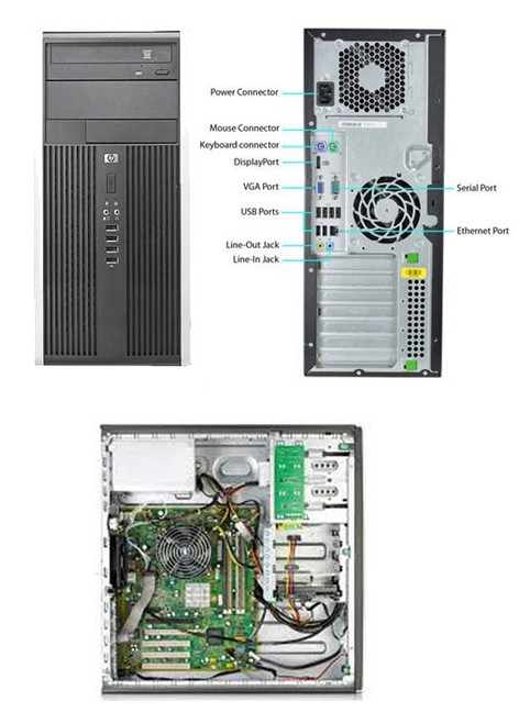 HP 8100 Elite Tower Computer