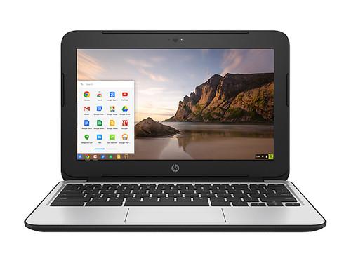 "HP Chromebook 11 G4 Dual Core 11.6"" Chrome OS Laptop Spots"