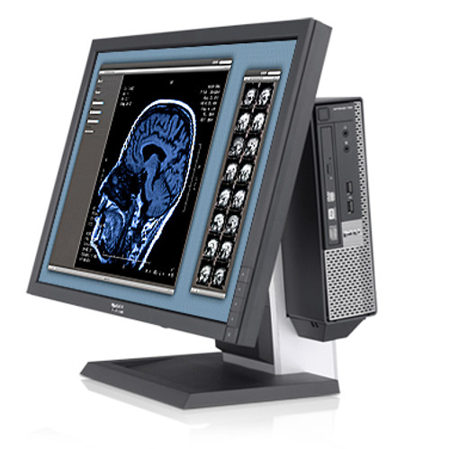 """Dell Optiplex 990 USFF i5 24"""" LCD Ultra Small PC Package"""