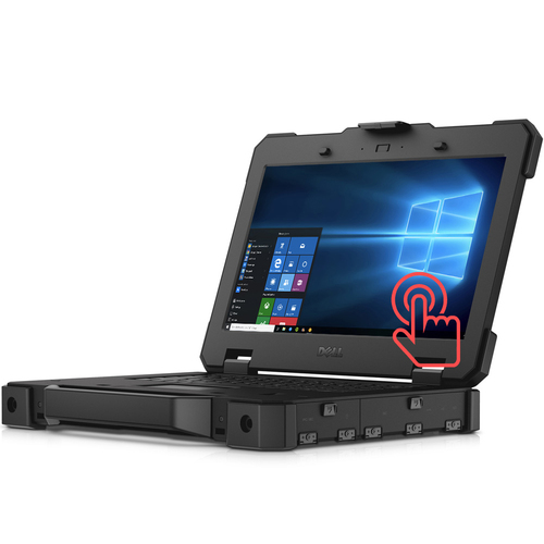 """Dell Latitude 14-7414 Rugged Extreme i5 SSD 14"""" Touch Laptop Thumbnail"""