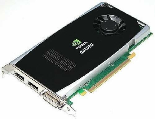 Dell Nvidia Quadro FX1800 Workstation Graphics Card P418M