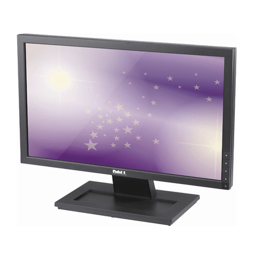 "Dell E1910 19"" Widescreen LCD front view."