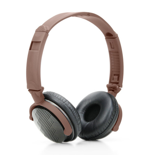 GoGroove AudioLUX WD Natural Wood Over Ear Headphones