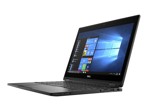 "Dell Latitude 5289 2-in-1 i5-7300U 12"" Convertible Tablet open view."
