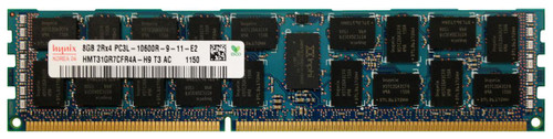 www.discountelectronics.com  8GB 2RX4 PC3L-10600R-9-12-E2 Size: 8GB Rank: Dual Rank Speed: 10600 Low Voltage Type: Registered Model: HMT31GR7CFR4A-H9 HP Part Number: 647650-071 HP Spare Part Number: 664690-001