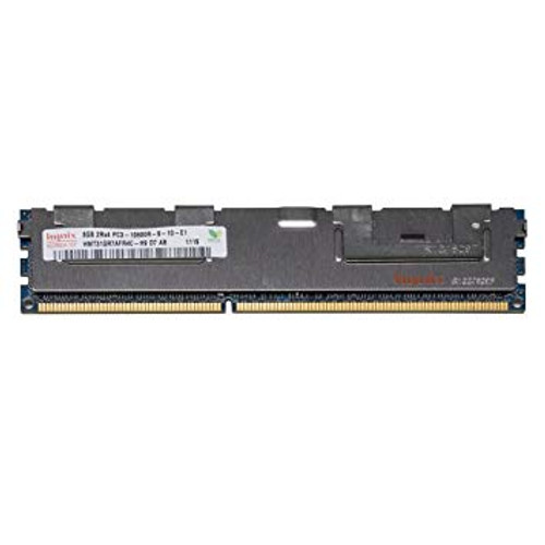 WWW.DISCOUNTELECTRONICS.COM 8GB 2RX4 PC3-10600R-9-10-E1 Size: 8GB Rank: Dual Rank Speed: 10600 Type: Registered Model: HMT31GR7BFR4C-H9 HP Part Number: 500205-071