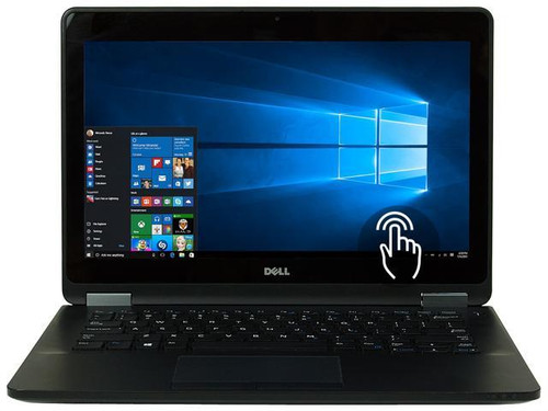 "Dell Latitude E7270 i7 SSD 12"" Touch Ultrabook Bubble"