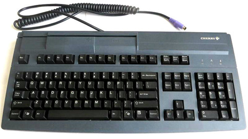 Cherry MY 8000 with Magnetic Card Reader PS2 Keyboard