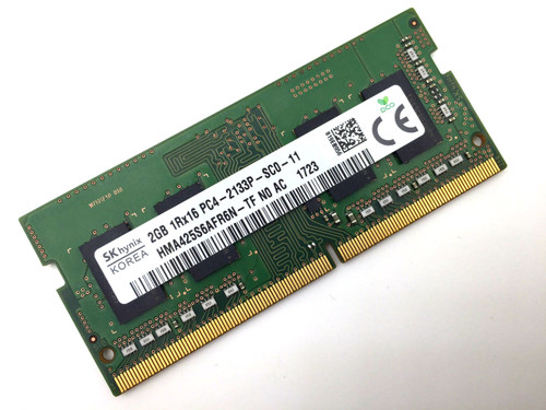 Hynix 2GB PC4-17000 DDR4-2133MHz Laptop RAM hma425s6afr6n-tf