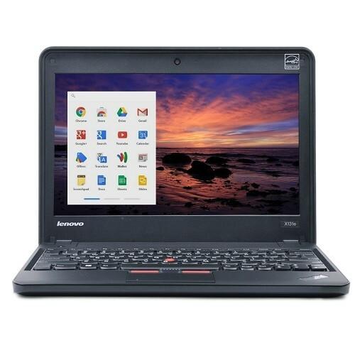 """Lenovo ThinkPad X131E Dual Core 11.6"""" Chromebook"""