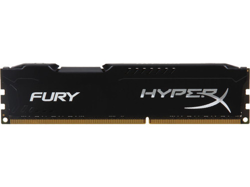 HyperX FURY 8GB 240-Pin DDR3 SDRAM DDR3 1600 (PC3 12800) Memory Model HX316C10FB/8