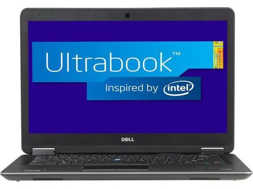 Dell Ultrabook i5 Latitude E7440 Windows 7 Pro Laptop Front View