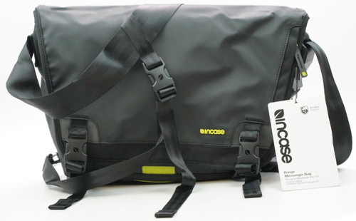 Incase Range Weather Resistant Messenger  Bag - Black/Lumen