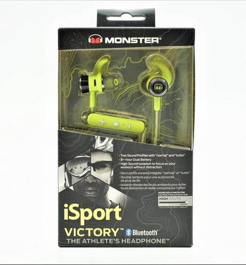 Monster iSport Victory Headphones - Green
