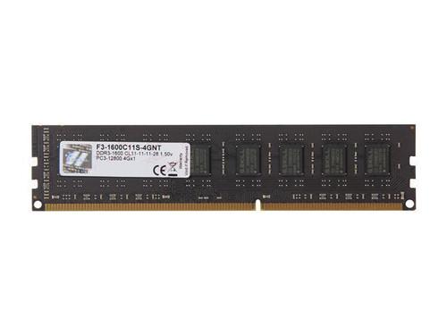 G.SKILL Value 4GB 240-Pin DDR3 1600 (PC3 12800) Desktop Memory
