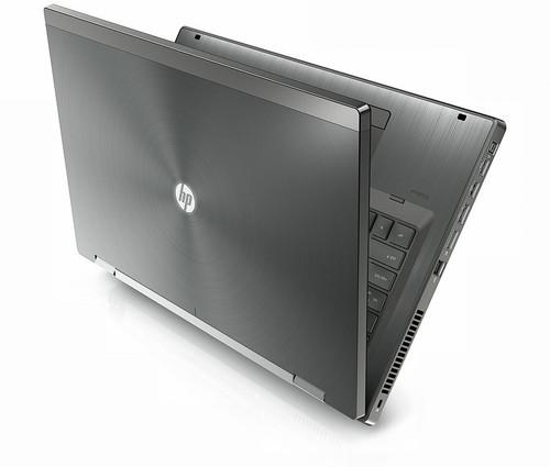 "HP EliteBook 8760W i7 Radeon 17.3"" Workstation Laptop right side"