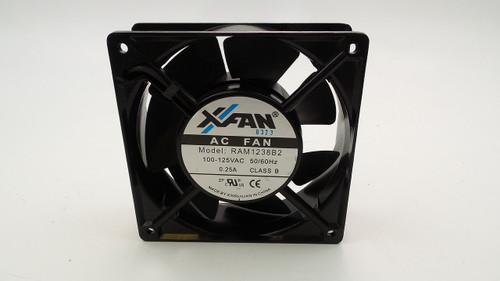 X-Fan RAH1238B2 120 x 120 x 38mm 120VAC Ball Bearing Fan