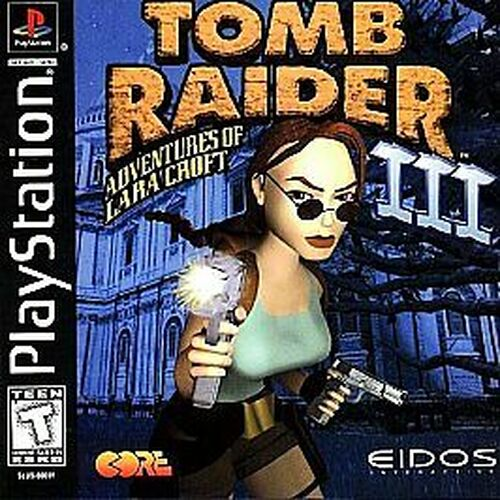 Sony PlayStation 1 Tomb Raider III: Adventures of Lara Croft