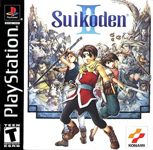 Sony Playstation 1 Suikoden II Video Game