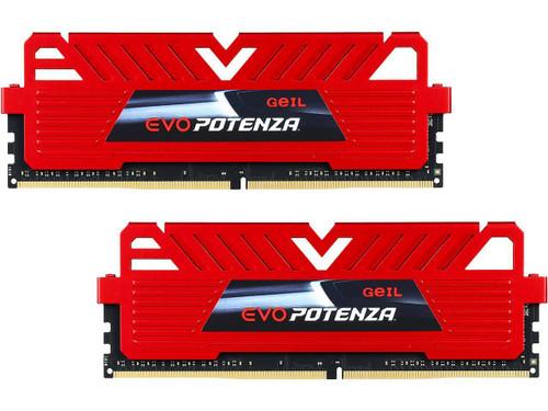 GeIL EVO POTENZA 8GB (2 x 4GB) DDR4 2400 (PC4 19200) Desktop Memory