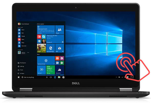 "Dell Latitude E7470 i7-6600U SSD 14"" Touch Quad HD Ultrabook Main"