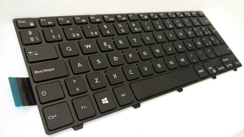 Dell OEM Spanish Inspiron 14 (3441 / 3442/ 3443) / Latitude 3450 Laptop Keyboard