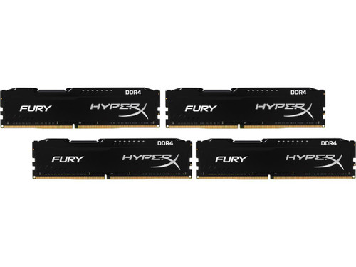 HyperX FURY 32GB (4 x 8GB) 288-Pin DDR4 Desktop Memory Kit