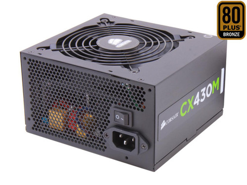 Corsair CX430M 430W ATX12V & EPS12V Modular Power Supply
