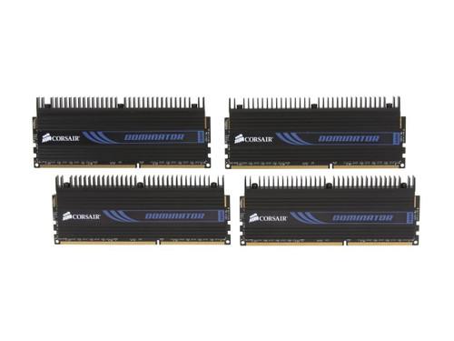 Corsair Dominator 32GB (4 x 8GB) 240-Pin DDR3 1600 (PC3 12800) Memory