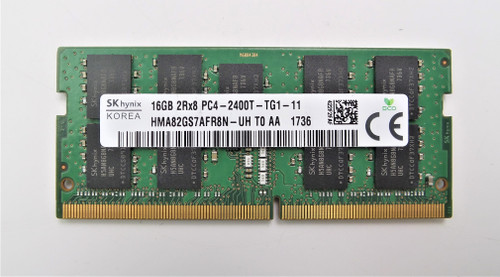 SK Hynix 1x 16GB DDR4-2400 SODIMM PC4-19200T-S Laptop Memory