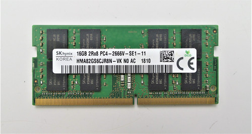 SK Hynix 16GB PC4-21300 DDR4-2666MHz 260-Pin Laptop Memory