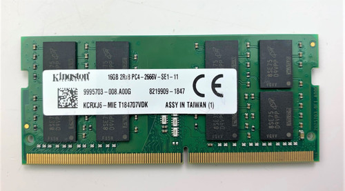 Kingston 16GB PC4-2666V DDR4 2666MHz Laptop Memory