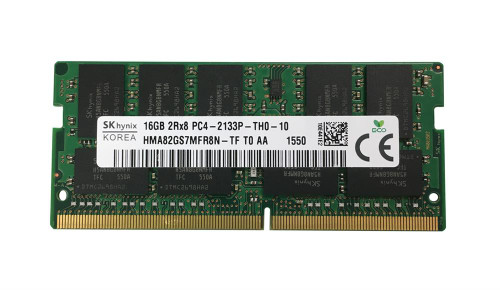 SK Hynix 16GB PC4-17000 DDR4-2133MHz ECC Laptop Memory