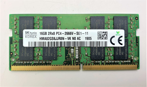 SK Hynix 16GB 260p PC4-21300 DDR4-2666 260-Pin Laptop Memory