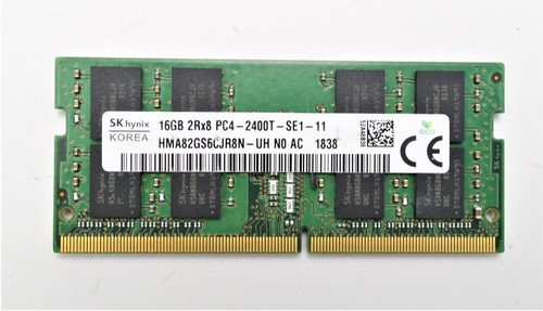 SK Hynix 16GB PC4-19200 DDR4-2400MHz Dual Rank Laptop Memory