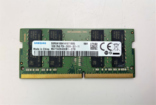 Samsung 16GB DDR4 PC4-21300 2666MHz 260-Pin Laptop Memory