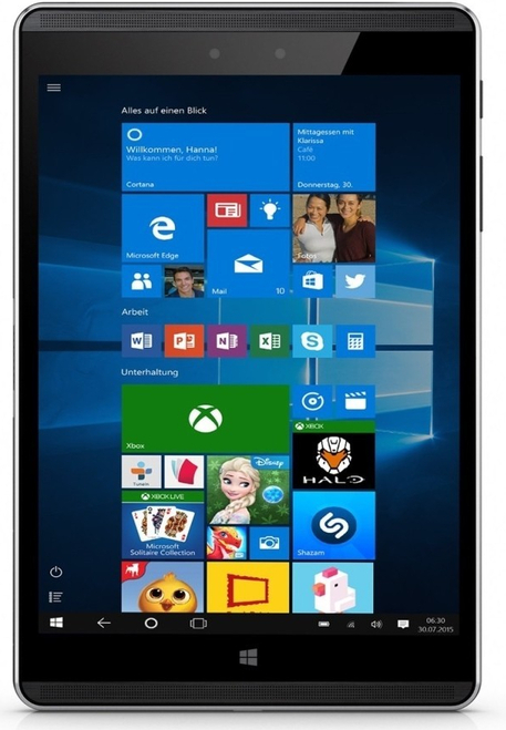 "HP 608 G1 Pro 8"" Windows 10 Pro Tablet"