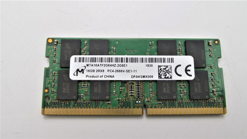 Micron MTA16ATF2G64HZ-2G6E1 16GB PC4-2666V-SE1-11 260-PIN Memory